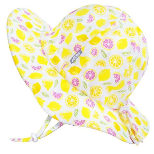 Jan & Jul Cotton Floppy Hat- Lemons