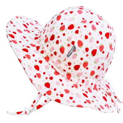 Jan & Jul Cotton Floppy Hat- Strawberry