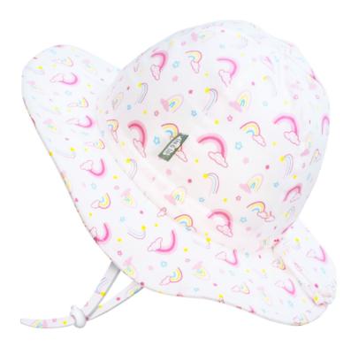 Jan & Jul Cotton Floppy Hat- Rainbow
