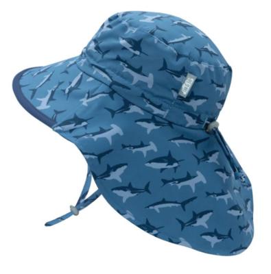 Jan & Jul Aqua Dry Adventure Hat-Shark