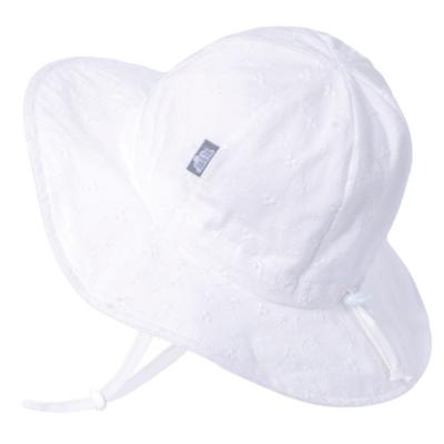 Jan & Jul Cotton Floppy Hat- White Eyelet