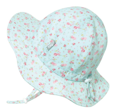 Jan & Jul Cotton Floppy Hat-Retro Rose