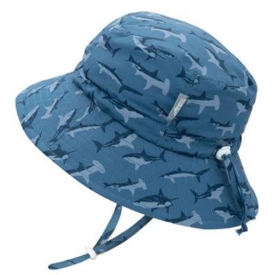 Jan & Jul Aqua Dry Bucket Hat- Shark