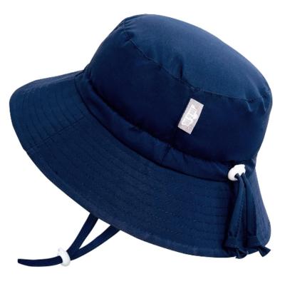 Jan & Jul Aqua Dry Bucket Hat-Navy