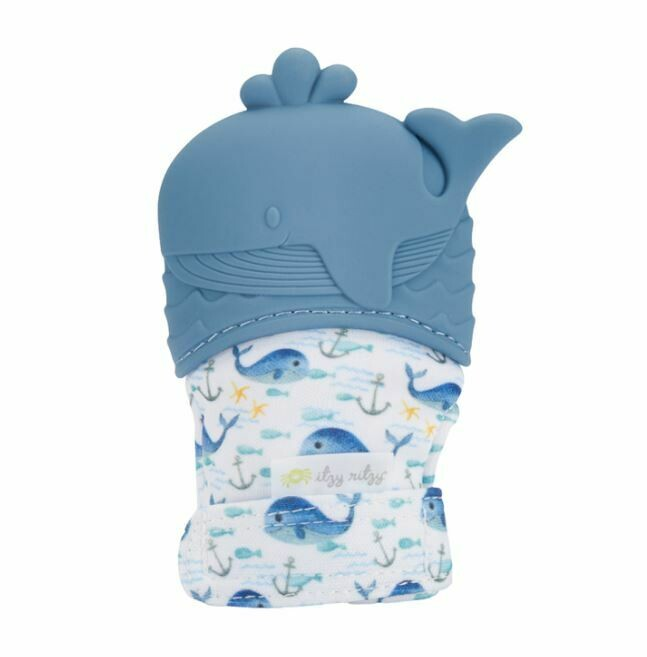Itzy Ritzy Silicone Teething Mitt (Whale