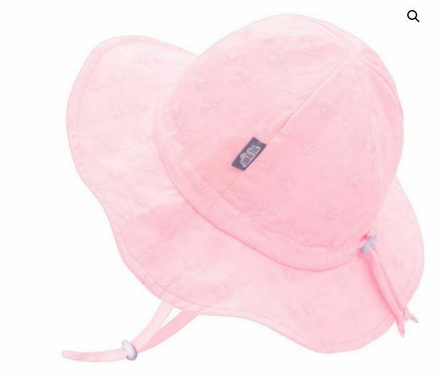 Jan & Jul Cotton Floppy Hat Pink Daisy