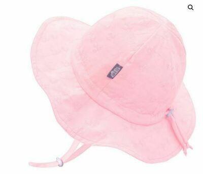 Jan & Jul Cotton Floppy Hat Pink Daisy