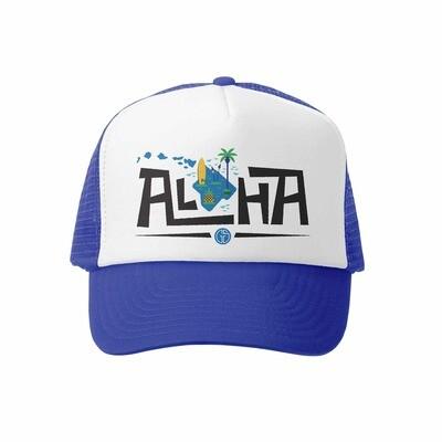 Grom Squad Hat Aloha Islands-Royal