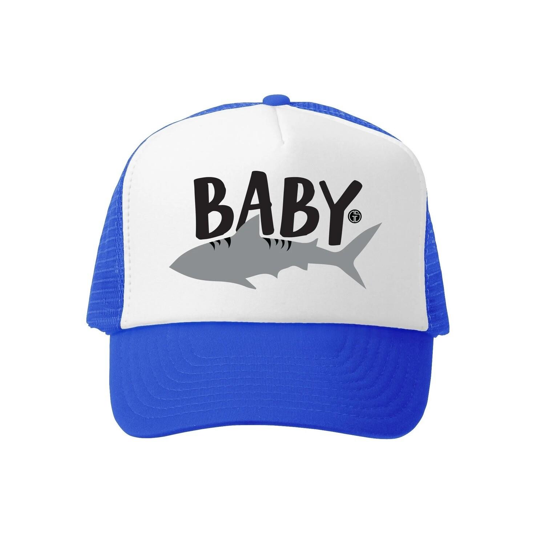 Grom Squad Hat Baby Shark-Royal 6-18M