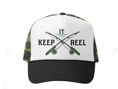 Grom Squad Hat Keep It Real-Camo