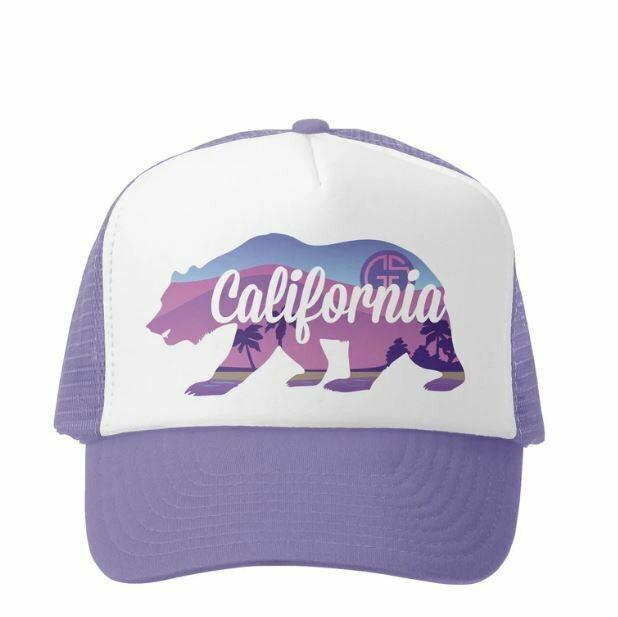 Grom Squad Hat California-Lavender