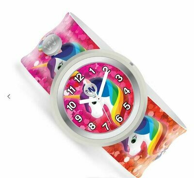 Rainbow Unicorns Slap Watch 432