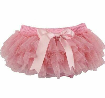 Sparkle Sisters Glitter TuTu Bloomer-Pink