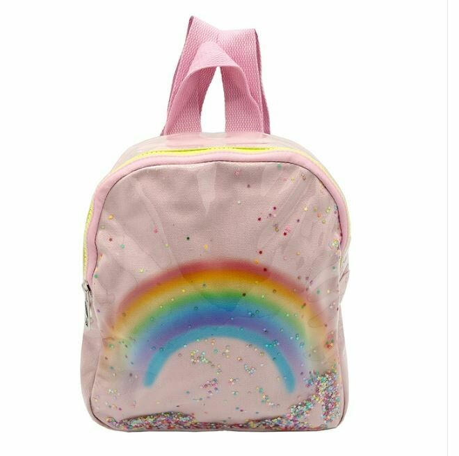 Rainbow Backpack- Pink