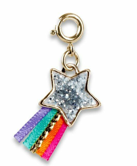 Charm It Gold Glitter Shooting Star Charm CICC1405