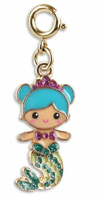 CHARM It Gold Mermaid Charm CICC1340
