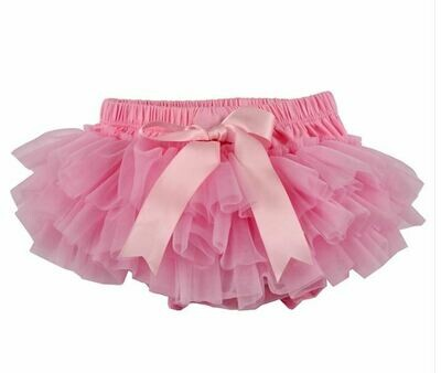 Sparkle Sisters Ruffle Bloomer-Pink