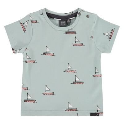 Babyface ss Grey Mint T-Shirt 7649