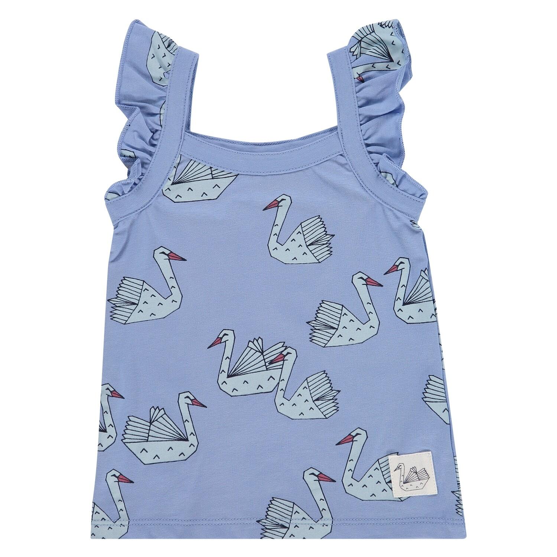 Babyface Girls ss Lavendar Blue T-Shirt 8652
