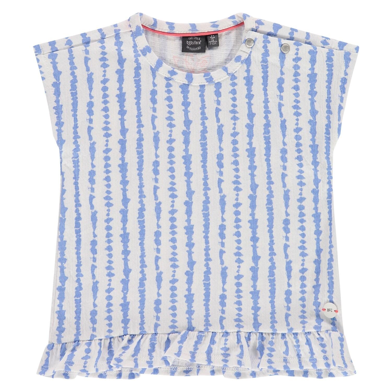 Babyface Girls ss Lavendar Blue T-Shirt 8649