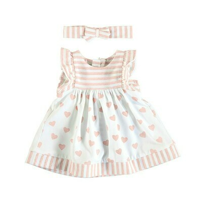 Mayoral Baby Girl Candy Heart Dress Set 1802