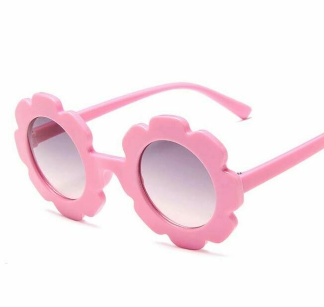 Flower Power Girls Sunglasses-Pink