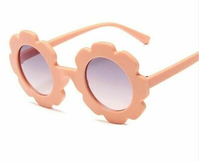 Flower Power Girls Sunglasses- Blush