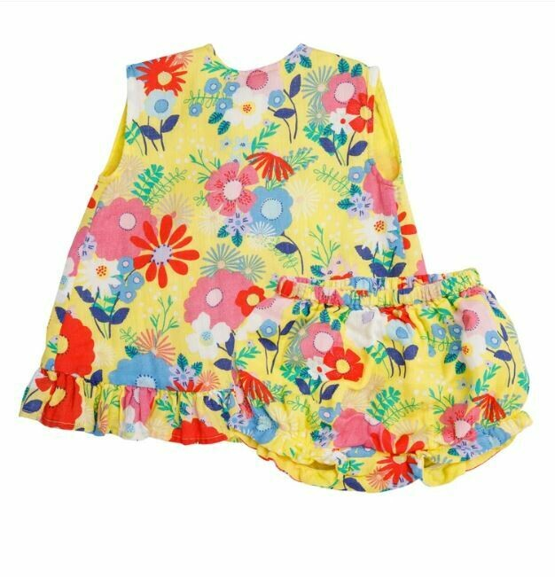 Angel Dear Superior Floral Top&Bloomer 5S1