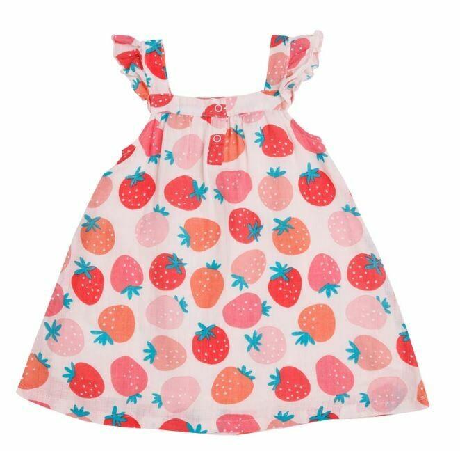 Angel Dear-Strawberries Sun Dress 150S