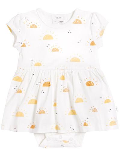 Petit Lem Baby Girl Sun Dress Onesie 602