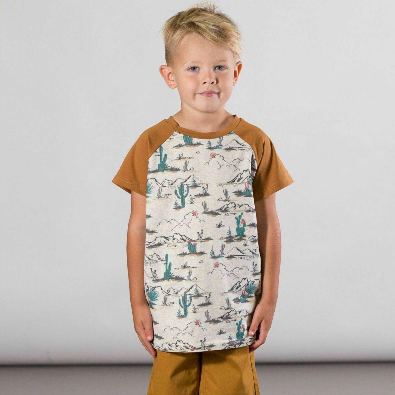 Deux Par Deux Boys Desert  Jersey T-Shirt U73