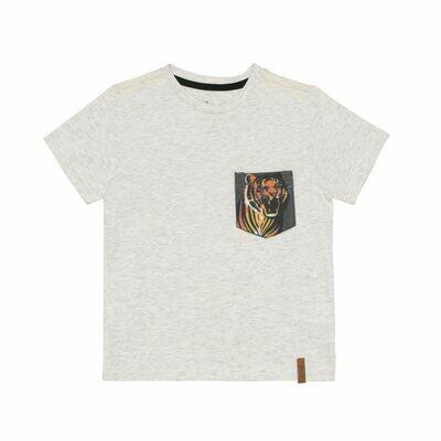 Deux Par Deux Boys Lt Grey Jersey T-Shirt U72