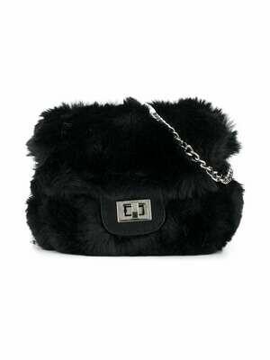 Abel & Lula Faux Fur Bag 5933 Black