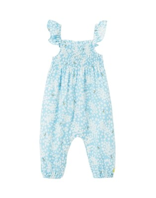 Joules Baby Girl Blue Bee Jumper 489