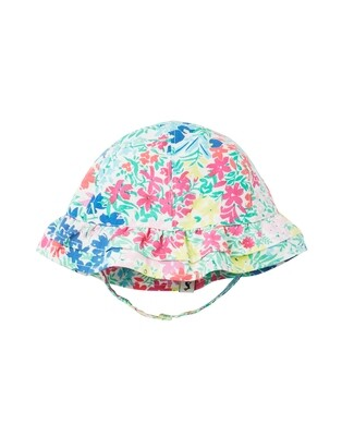 Joules Baby Girl White Floral Hat 990
