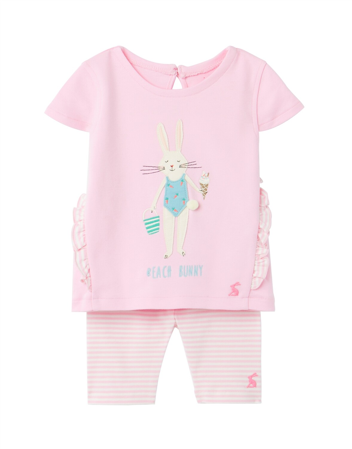 Joules Baby Girl Pink Bunny Set 716