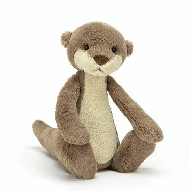 "Jellycat Bashful Otter Medium 12"""