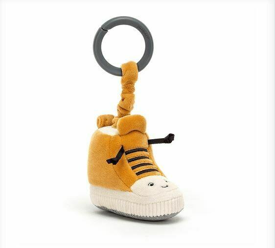 """Jellycat Kicketty Sneaker Jitter 5"""""""