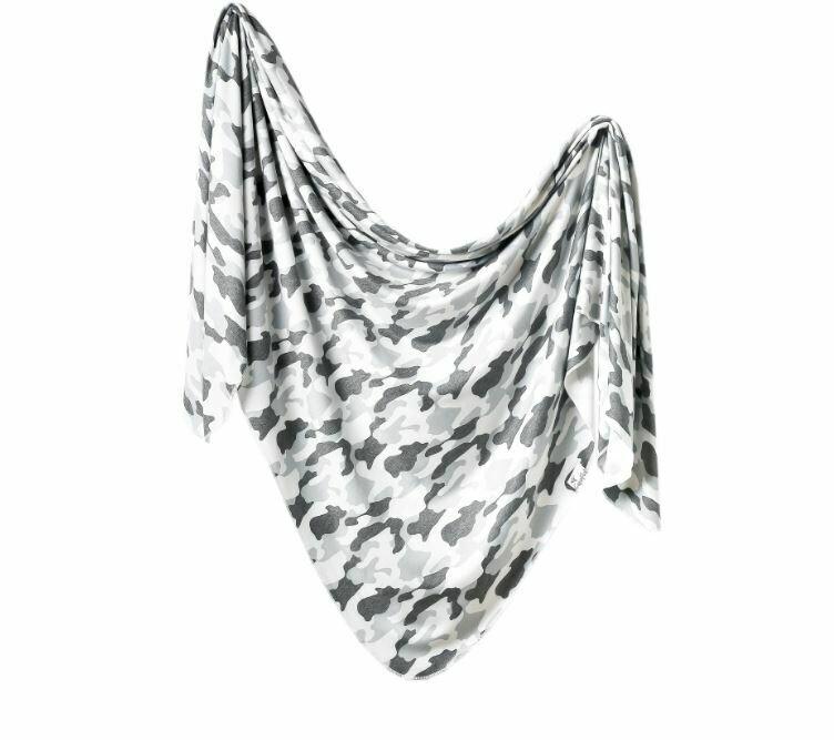 Copper Pearl Knit Swaddle Blanket - Gunnar