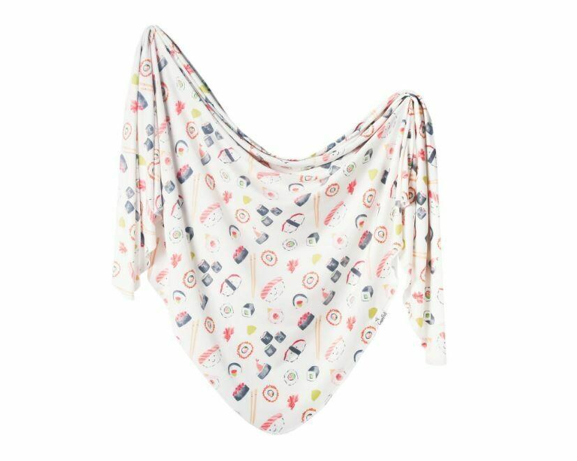 Copper Pearl Knit Swaddle Blanket - Baja