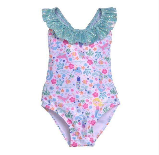 Flap Happy Mindy Swimsuit- Mermaid Lagoon