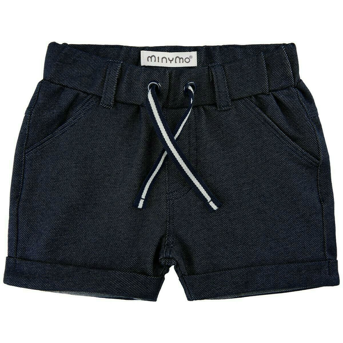 Minymo- Baby Boy Medium Blue Denim Shorts 1150