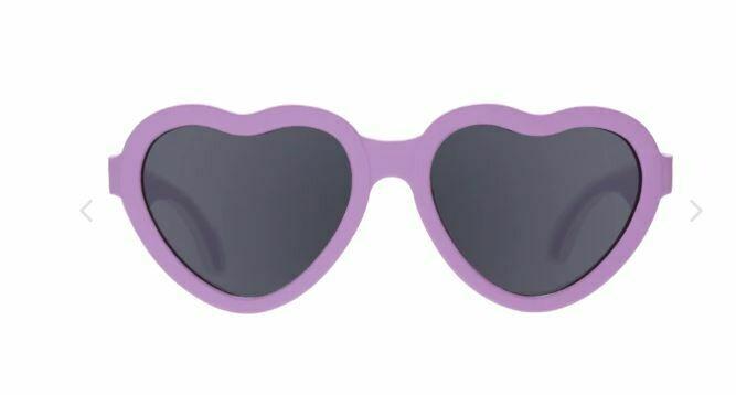 Babiators Ooh La Lavender Heart Sunglasses 0-2Y