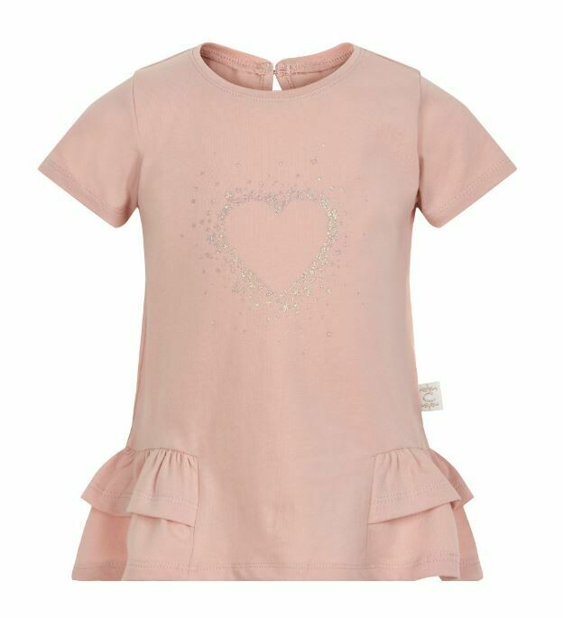 Creamie Rose Smoke Heart T-Shirt 0292