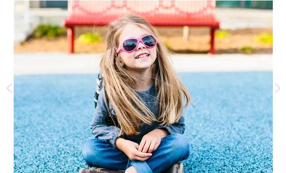 Babiators Aviator Sunglasses Pink-3-5Y