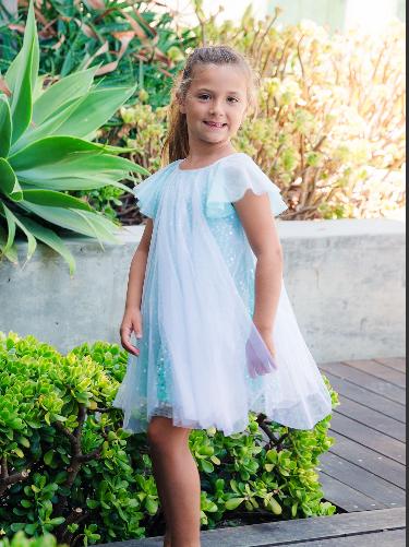 Isobella and Chloe Sparkling Magic Dress