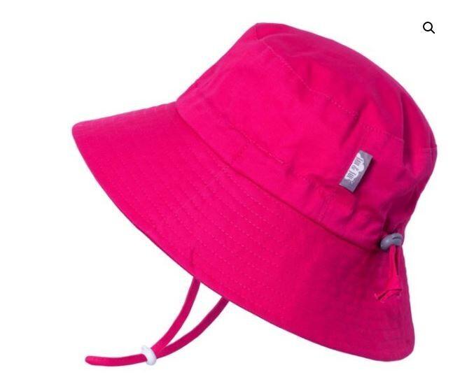 Jan & Jul Aqua Dry Bucket Hat Hot Pink