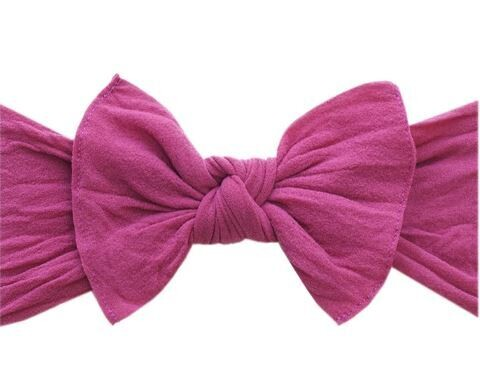 Baby Bling Knot - Hot Pink