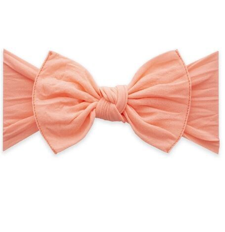 Baby Bling Knot - Neon Coral