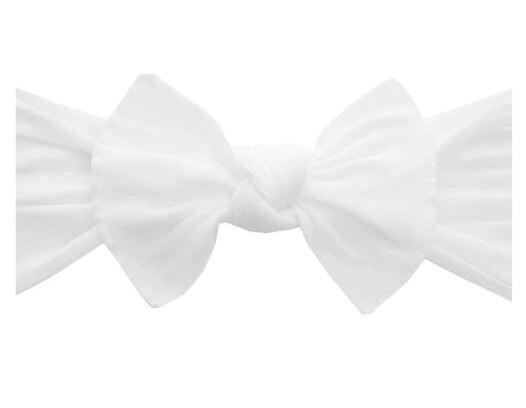 Baby Bling Knot - White